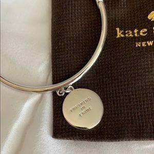 kate spade Jewelry - Kate Spade silver bracelet